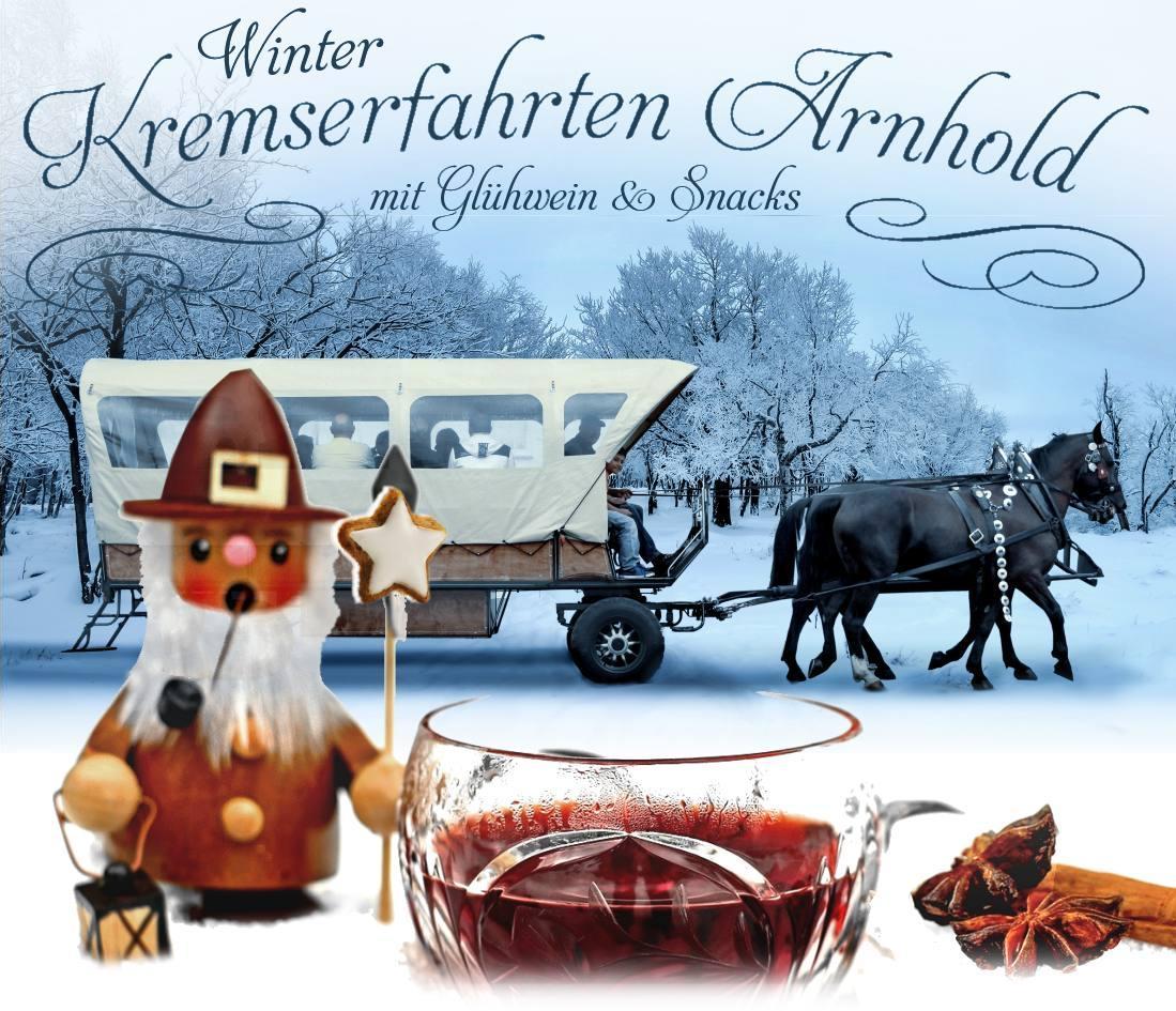 Kremserfahrt zum Weihnachtsmarkt Holzhausen